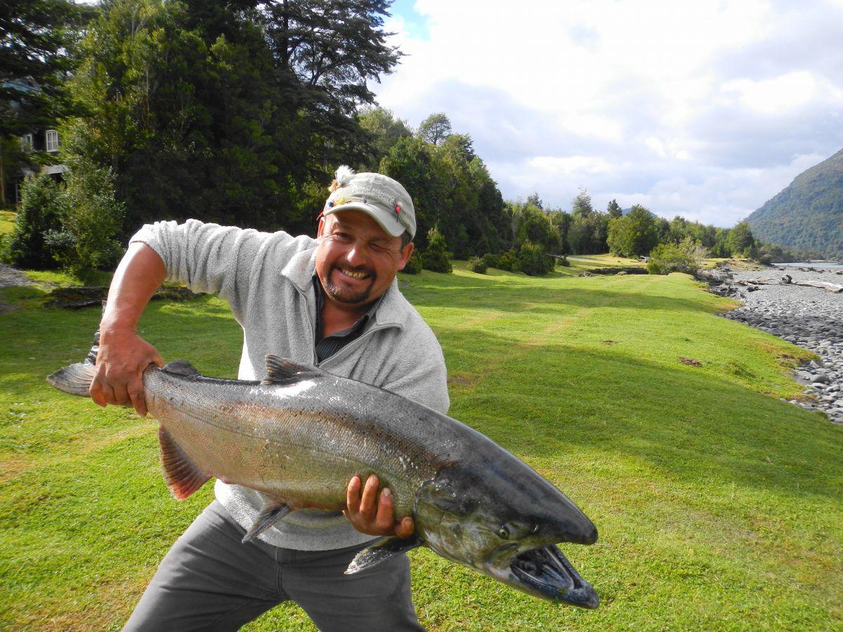 Fishing News - Patagonia Chile Fishing Puma Mothership Lodge Chaitan